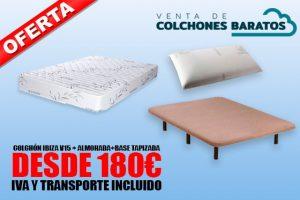 oferta colchon almohada base