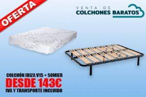 Oferta Somier Y Colchon 135.Venta De Colchones Baratos De Fabrica Envio Gratis 24h