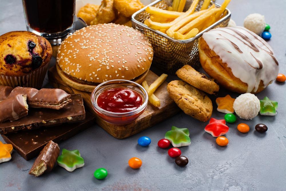 comida frita antes de dormir